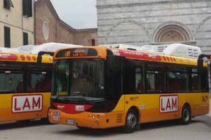 Foto: Linee e Orari del trasporto pubblico Città di Lucca